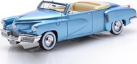 1948 Tucker Torpedo Convertible Top Down in 1:43 Scale by Esval Models