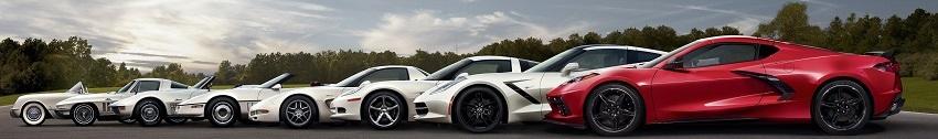Corvette Diecast Models