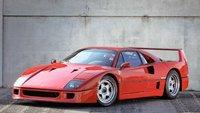 Ferrari F40 Valeo S N 79883 Gianni Agnelli Personal Car in 1:18 scale by BBR
