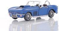 Blue Chevrolet Corvette by Old Modern Handicrafts