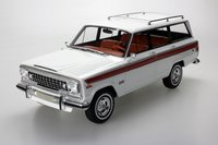 1963 Jeep Wagoneer White in 1:18 scale by LS Collectibles