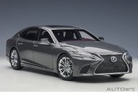 Lexus LS 500h Manganese Luster Metallic in 1:18 Scale by Autoart
