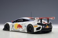 McLaren 12C GT3,  Red Bull, S.Loeb/A.Parente #9  Diecast Model Car in 1:18 Scale by AUTOart