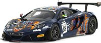 2013 McLaren 12C GT3 #88 Von Ryan Racing 2013 24 Hours of Spa - Limited 500 Pieces Model Car in 1:18 Scale by True Scale Miniatures