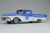 """1958 FORD RANCHERO """"Pan American Airways"""" in 1:43 scale by Goldvarg"""