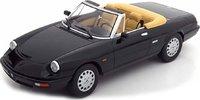 1990 Alfa Romeo Spider 4 in Black 1:18 by KK in 1:18 Scale