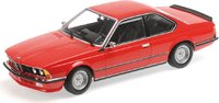 1982 BMW 635 CSI Red in 1:18 Scale by Minichamps
