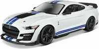 2020 Mustang Shelby GT500 Diecast in 1:18 White by Maisto