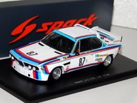 BMW 3.0 CSL, No.87, Le Mans 1974 M. Finotto - C. Facetti - M. Mohr in 1:43 scale by Spark