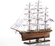 CUTTY SARK (BLACK WOOD) Ship L70 by Old Modern Handicrafts