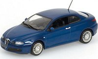 ALFA ROMEO GT 2003 in DARK BLUE METALLIC Diecast Model Car in 1:43 Scale by Minichamps