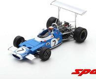 1969 MATRA MS80 JACKIE STEWART RACE OF CHAMPIONS WINNER F1 MODEL in 1:43 scale by Spark