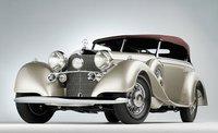 1938 Mercedes Benz 540K Offener Tourenwagen Resin Model Car in 1:43 Scale by GLM