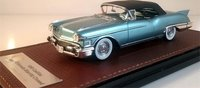 1958 Cadillac Eldorado Biarritz Closed Roof Resin Model in 1:43 Scale by GLM