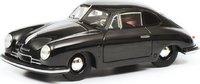 Porsche 356 Black Resin Model in 1:43 Scale by Schuco