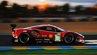 Ferrari 488 GTE EVO No.51 24H Le Mans 2021 in 1:43 scale by Looksmart