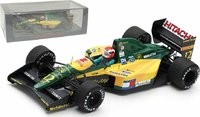 Lotus 107 No.12 French GP 1992 in 1:43 Scale by Spark