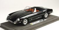 1966 Ferrari 365 California LE 100 in Black Model in 1:18 Scale by BBR