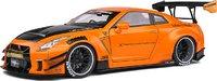 NISSAN GTR 35 LB WORKS Orange Metallic in 1:18 scale by Solido
