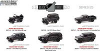 Black Bandit Series 25 Complete Set in 1:64 scale by Greenlight