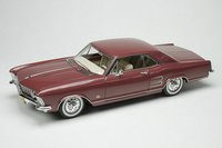 1963 Buick Riviera Burgundy in 1:43 Scale by Goldvarg Collection