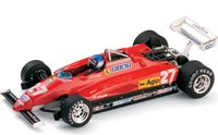 FERRARI 126C2 Italian GP ANDRETTI 1982 in 1:43 scale by Brumm