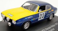 FORD Capri 2600 Olympia Rallye 1972 in 1:43 scale by CMR