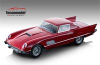 1956 Ferrari 410 Super Fast in Red in 1:18 Scale by Tecnomodel