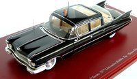 "1959 Cadillac Series 75 Limousine Bubble-Top ""Queen Elizabeth II""  Diecast Model Car in 1:43 Scale by Truescale Miniatures"
