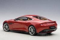 2015 Aston Martin Vanquish in Volcano Red Composite Model Car in 1:18 Scale by AUTOart
