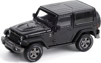 2016 Jeep Wrangler 75th Anniversary Black in 1:43 scale by Greenlight