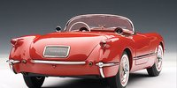 1954 CHEVROLET CORVETTE in RED  Diecast Model Car in 1:18 Scale by AUTOart