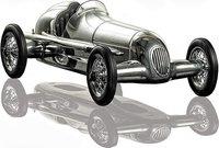 Silberpfeil Race Car Replica Model Car by Authentic Models