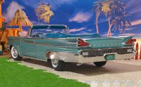 1959 Parklane Open Convertible in Neptune Turquoise Metallic Diecast Model Car in 1:18 Scale by Sun Star