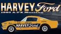 1965 FORD MUSTANG A/FX HARVEY FORD DYNO DON in 1:18 scale by Acme