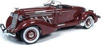 1935 Auburn Speedster Diecast Model in 1:18 Scale by Auto World