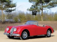 Jaguar XK150 -S- OTS Roadster Red in 1:18 Scale by Cult Models