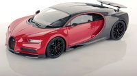 Bugatti Chiron Sport with Open Wing 1:18 scale red/carbon by MR Collection