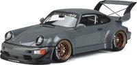 Porsche 911 with RWB custom BODY KIT AKIBA in 1:18 scale by GT Spirit