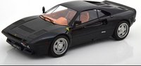 1984 Ferrari 288 GTO in black 1:18 scale by KK models