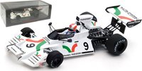 Brabham BT42 #9 British F1 GP 1973 in 1:43 Scale by Spark