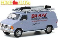 1986 Dodge Ram Van Oh-Kay Plumbing and Heating Home Alone (1990) movie in 1:43 scale by Greenlight