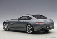 Mercedes AMG GT S in Matt Grey Composite Model Car in 1:18 Scale by AUTOart