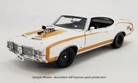 1972 OLDSMOBILE 442 HURST, DRAG OUTLAW in 1:18 scale by Acme