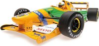 Benetton Ford B192 Silverstone 1992 Diecast Model in 1:18 Scale by Minichamps