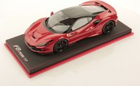 Ferrari F8 Tributo red in 1:18 scale by MR Collection