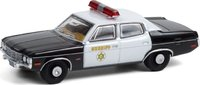 Los Angeles County Sheriff 1973 AMC Matador Gone in Sixty Seconds in 1:64 scale by Greenlight