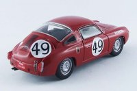 1960 FIAT ABARTH 850 S, Le Mans, 1960 Spychier/Feret #49 Diecast Model Car in 1:43 Scale by Best Model