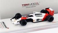 1989 McLaren MP4/5 #1 German GP Winner Ayrton Senna Model Car in 1:43 Scale by TSM