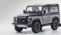 Land Rover Defender 90 in Corris Grey - Final Edition by Kyosho in 1:18 Scale